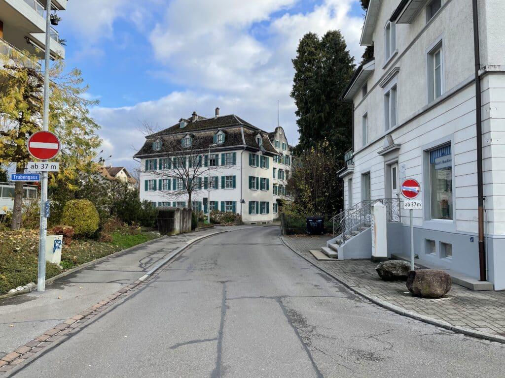 Florahofstrasse in Wädenswil
