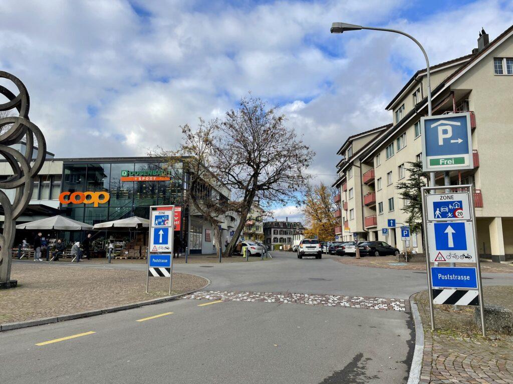 Poststrasse in Wädenswil